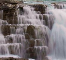 Athabasca Falls by MikeAntares
