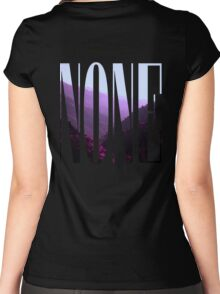 NONE.exe Women's Fitted Scoop T-Shirt