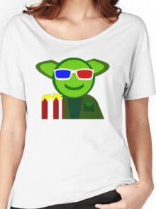Yoda Popcorn Women's Relaxed Fit T-Shirt