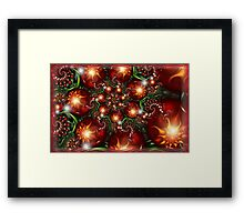 Under the holly Framed Print
