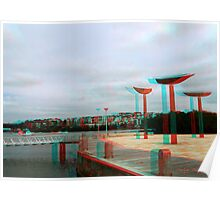 """""""The Jetty"""" - An Anaglyph Journey Poster"""