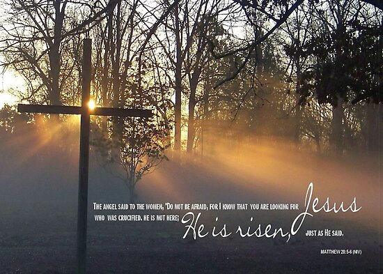 Easter Cross at Sunrise by Rocky Henriques