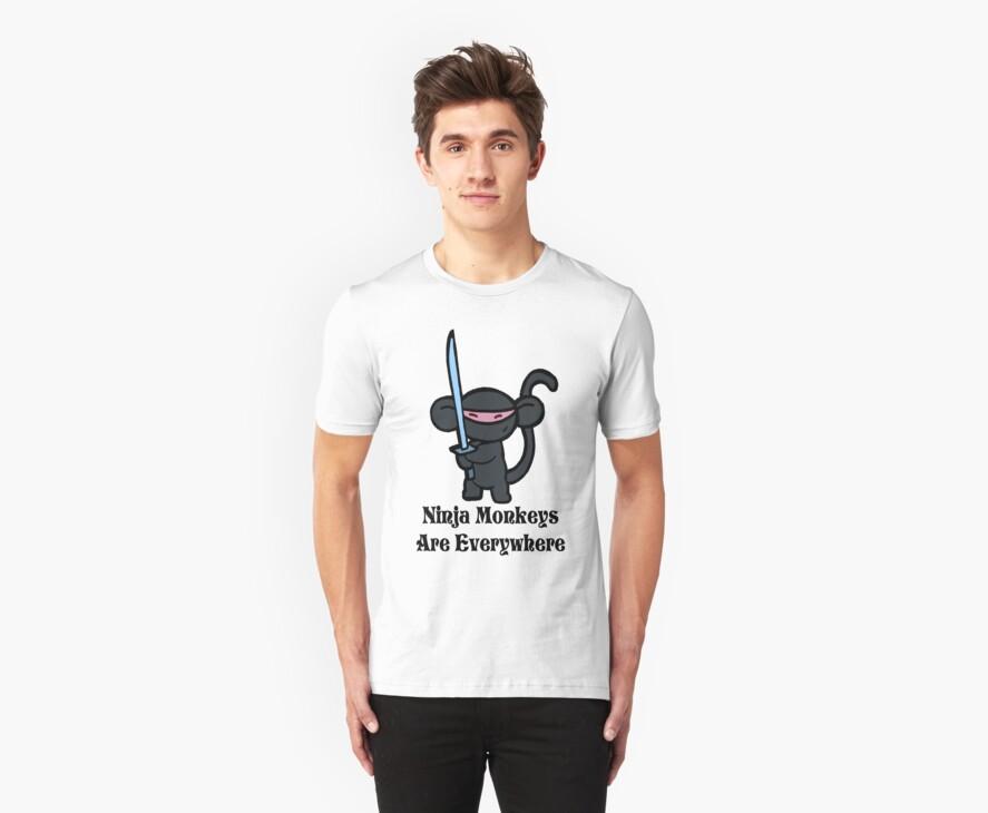 Ninja Monkey with Sword by Ninja Monkey