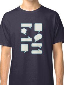speech bubles  Classic T-Shirt