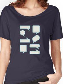 speech bubles  Women's Relaxed Fit T-Shirt