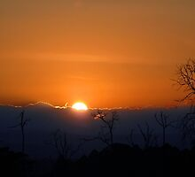 Sunset over Samburu... by Stephie Butler