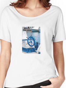 sailor wheel Women's Relaxed Fit T-Shirt