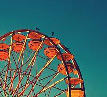 Ferris Wheel - Ohio State Fair by Hampton Taylor