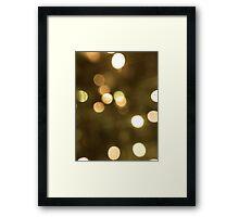 Colorful Dots II Framed Print