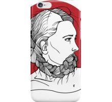 Sansara Girl's Portrait iPhone Case/Skin