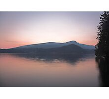 dusk on Howe Sound Photographic Print