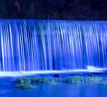 Blue Falls - Helena, Alabama by Hampton Taylor