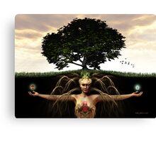 Gaia's Child Canvas Print