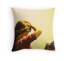 Facing Forward - Newport, Rhode Island Throw Pillow
