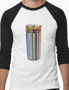 bottle colors Men's Baseball ¾ T-Shirt