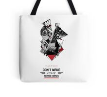 Abstract Horses Alert Tote Bag