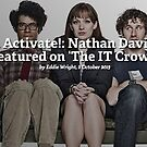 Caffeine Powers… Activate!: Nathan Davis' T-shirt Design is Featured on 'The IT Crowd' by Redbubble Community  Team