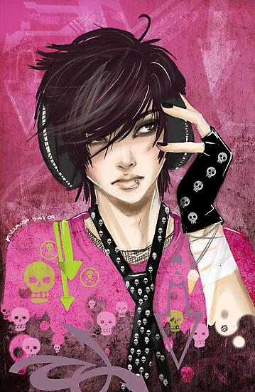 Marcha atras - emo boy by punkypeggy