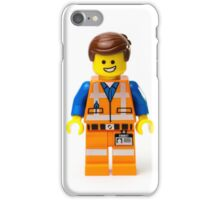 Orange Jumpsuit Minifig iPhone Case/Skin