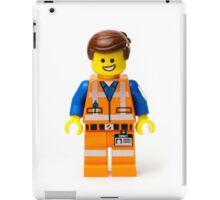 Orange Jumpsuit Minifig iPad Case/Skin