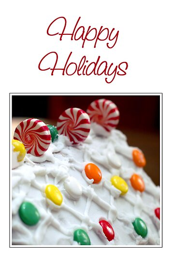 Happy Holidays by Jane Brack