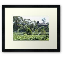 Hop Kiln in the Derwent Valley Framed Print