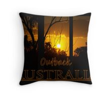 Outback  Throw Pillow