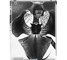 Funny Face -orchid in B&W    ^ iPad Case/Skin