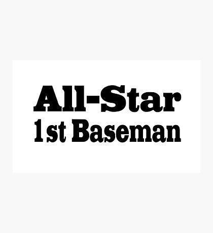 Baseball Photographic Print