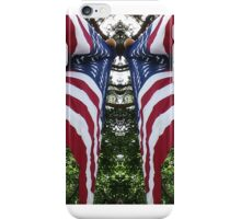 Mirrored Flag iPhone Case/Skin