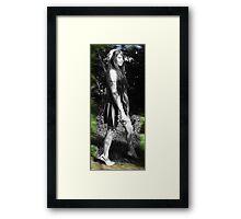 Carmelle - Full Body Portrait Framed Print