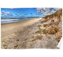 Lennox Head After A Storm Poster