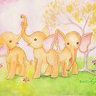 Friends Are Wonderful...Elephants Know! by AngelArtiste