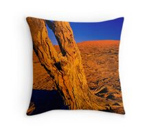Dead Tree - Big Red Throw Pillow