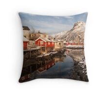Svinøya, Right Out of a Painting Throw Pillow