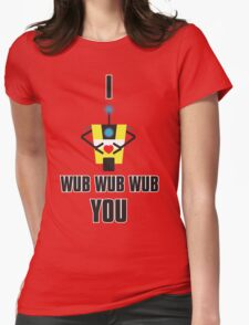 I WUB YOU Womens Fitted T-Shirt