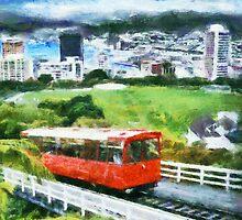 Wellington cable car by Shamus Macca