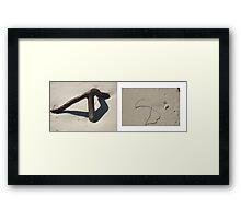 beach muse #1 Framed Print