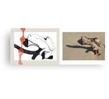 beach muse #4 Canvas Print