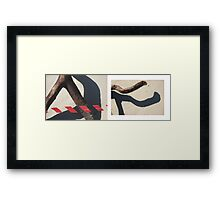 beach muse #3 Framed Print