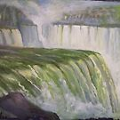 Niagra Falls by weepeeple