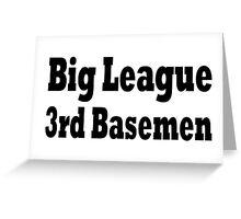 Baseball Greeting Card