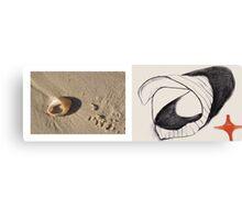 beach muse #7 Canvas Print