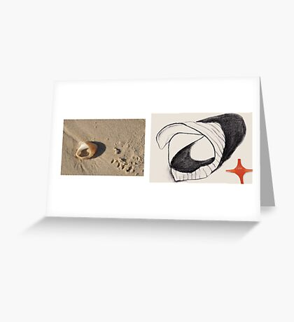 beach muse #7 Greeting Card