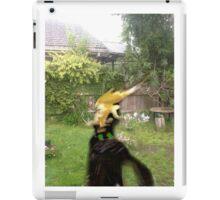 Loki in a garden iPad Case/Skin