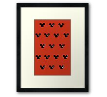 8 Bit mouses  Framed Print