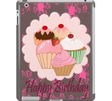 Cup Cakes (4017  Views) iPad Case/Skin