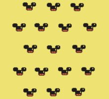 8 Bit mouses Version 2 Kids Clothes