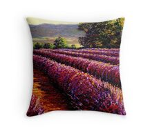 French Provençal Lavender Afternoon Throw Pillow