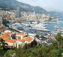 an unbelievable Monaco landscape by beautifulscenes